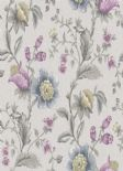 Into The Woods Zinnia Grey Heather  Wallpaper 98551 By Holden